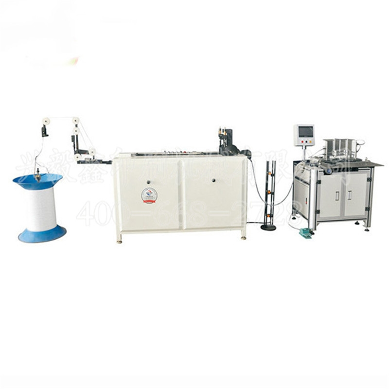 Double coil forming binding machine